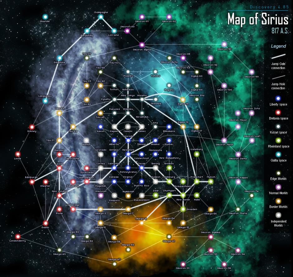 фрилансер карта вселенной