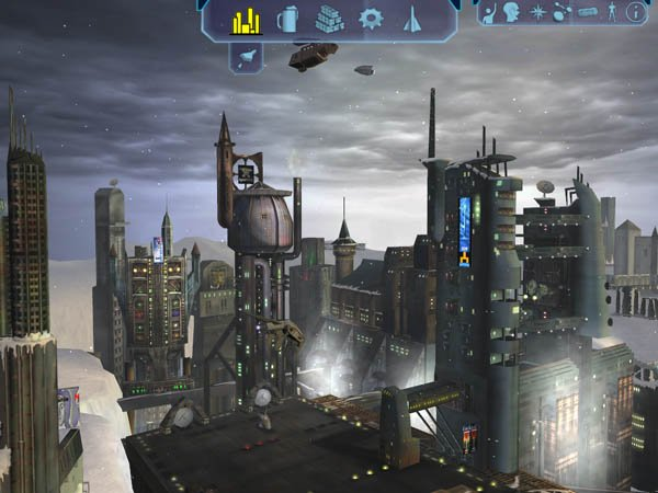 Planet and Cityscape 22